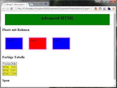 Html-Advanced